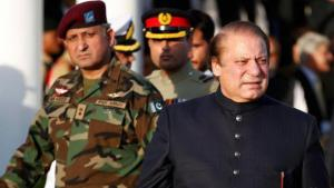 Pakistan's Prime Minister Nawaz Sharif and the military