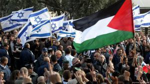 Israeli-Palestinian peace activists (photo: picture-alliance/dpa)