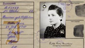 """Judenschein"" belonging to Fred Amram's mother (source: private)"