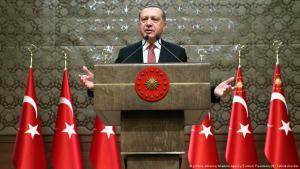 Turkish President Recep Tayyip Erdogan (photo: picture-alliance/Anadolu Agency/Turkish Presidency)