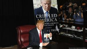 Donald Trump during a book presentation in New York (photo: picture alliance/dpa/Geisler-Fotopress)
