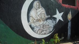 Graffiti in Libya