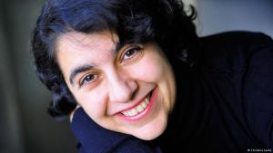 Mehrnousch Zaeri-Esfahani  (photo: Christina Laube)