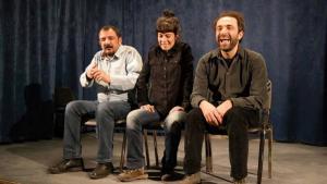 ALT-Tags: Members of Diyarbakir′s municipal theatre company (photo: Sonja Galler)