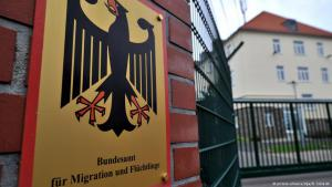 Germany′s Federal Ministry for Migration and Refugees in Chemnitz (photo: dpa/picture-alliance)