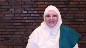 Islamic theologian Sheikha Halima Krausen (photo: Carolin Kubo)