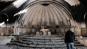 Many churches, like this one in Qaraqosh, not far from Mosul, were destroyed by IS (photo: M. Moskwar)