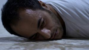 Film scene from ″Istiyad Ashbah | Ghost Hunting″ (source: Berlinale)