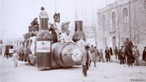 According to the Institute of Iranian Contemporary Historical Studies, the D′Arcy carnival was celebrated in the spring of 1933. The main reason for the celebration was Iran′s termination of the D′Arcy concession after a dispute with the British government and the Anglo-Persian Oil Company