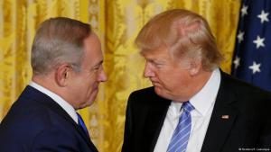 Israeli Prime Minister Benjamin Netanyahu and U.S. President Donald Trump during a joint news conference at the White House on 15 February 2017 (photo: Reuters/K. Lamarque)