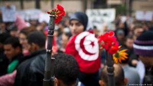 Symbol of peace in Tunisia (photo: AFP/Getty Images/M. Bureau)