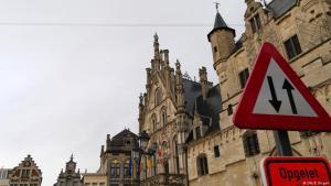 The Flemish town of Mechelen, Belgium (photo: DW)