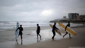 Still from ″Gaza Surf Club″ (source: picture-alliance/dpa)