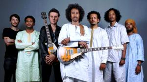 The Tuareg band Tamikrest (photo: Sebastien Rieussec)