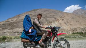 """The population of Pamir is predominantly Ismaili, a branch of Shia Islam that follows the precepts of the Aga Khan, but some areas are controlled by conservative Sunnis who insist on the wearing of the burka. Moderate Afghanis have dubbed them the """"long beards″, a veiled reference to the Taliban"""