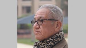 Egyptian author Kamal Ruhayyim (source: Twitter)