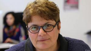 Iranian women's rights activist and filmmaker Mahboubeh Abbasgholizadeh (photo: Facebook)