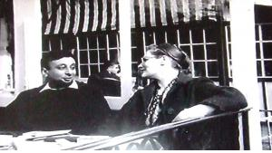 Waguih Ghali and his friend Diana Athill during the 1960s (source: Cornell University Library)