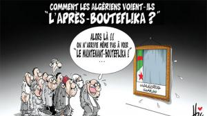 The post-Bouteflika era – cartoon by Hisham Baba Ahmed (source: ″El Watan″, 15.05.2016)