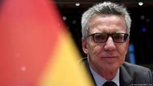 Germany′s Federal Minister of the Interior Thomas de Maiziere