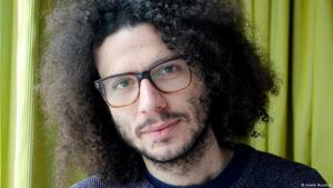 Syrian author Ramy al-Asheq (photo: Juliette Moarbes)