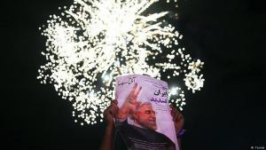 Rouhani supporters celebrate their president′s victory in Tehran (photo: Tasnim)