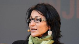Susan Abulhawa at the Oslo Book Festival Susan Abulhawa at the Oslo Book Festival (photo: decltype; http://en.wikipedia.org/User:Decltype)