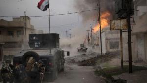 Iraqi army units advance into western Mosul (photo: dpa)