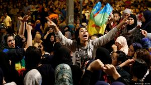 Anti-corruption protests in the Moroccan city of Al-Hoceima on 3 June 2017 (photo: Reuters/Youssef Boudlal)