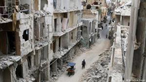 The ruins of Aleppo in northern Syria (photo: Reuters/A. Ismail)