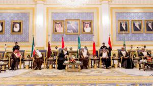 Members of the Gulf Cooperation Council in Riyadh (photo: picture-alliance/AP)