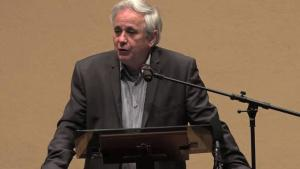 Dissident Israeli historian and activist Ilan Pappe (source: YouTube)
