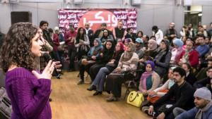 """The kick-off event for """"Wiki Gender"""" at the Goethe-Institut in Cairo (Goethe-Institut Cairo/Roger Anis)"""