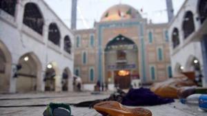 Terror attack at Lal Shahbaz Qalandar shrine (photo: YouTube)