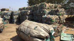 "Waste collected by Moroccan ""chiffonniers"" (photo: ARD)"