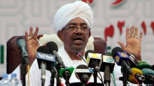 Sudanese President Omar al-Bashir during a speech in Khartoum (photo: AFP/Getty Images)