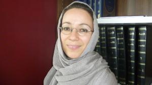 Muna Tatari, professor at the Seminar for Islamic Theology at the University of Paderborn (photo: Ulrike Hummel)