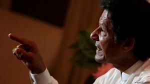 Opposition politician Imran Khan in his residence in Bani Fala (photo: Reuters/Caren Firouz)