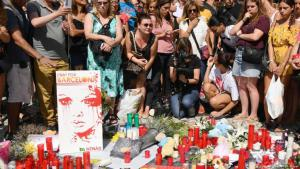 Mourners on Las Ramblas in Barcelona (photo: Getty Images)
