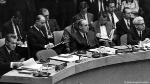UN Security Council Resolution 242, 1967: United Nations Security Council Resolution 242, passed on 22 November 1967, called for the exchange of land for peace. Since then, many of the attempts to establish peace in the region have referred to 242. The resolution was written in accordance with Chapter VI of the UN Charter, under which resolutions are recommendations, not orders