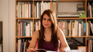Syrian writer Widad Nabi (photo: Heike Steinweg)