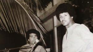 Jerry and Axmed Naaji, musicians in 1970s Mogadishu (source: Ostinato Records)