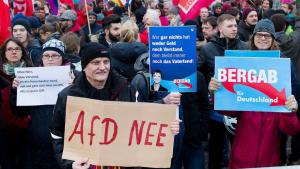 Anti-AfD demonstration (photo: dpa)