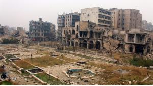 Destruction in Aleppo (photo: picture-alliance)