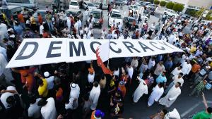 Demonstration for freedom and democracy in Bahrain in September 2012 (photo: Reuters/Hamad I Mohammed)