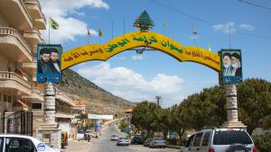Machghara village in the Bekaa welcomes you with portraits of Iranian leaders and Hezbollah martyrs. For those unfamiliar with geopolitics, a quick glance at the billboards in the streets will reveal who Hezbollah′s friends are