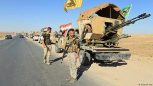 Shia militias move into the Iraqi province of Nineveh (photo: Reuters/A. Jalal)