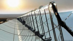 Solar modules – Desertec electricity project (photo: picture-alliance/dpa)