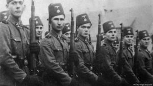 Bosnian Muslims who fought voluntarily on the side of the German army during the Second World War (photo: Getty Images7Keystones)