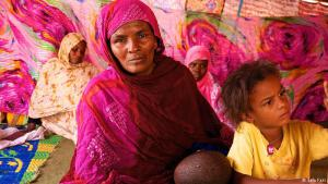 Born into bondage: Schweda was born a slave in Mauritania's north-eastern Sahara along with her brother, Matallah. Overcoming virtually insurmountable odds, Matallah succeeded in freeing her and her nine children from slavery in March 2013